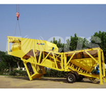 Picture 1 OF Mobile Concrete Batching Plant