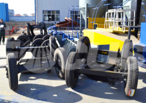 Traveling System Of Mobile Asphalt Mixing Plant