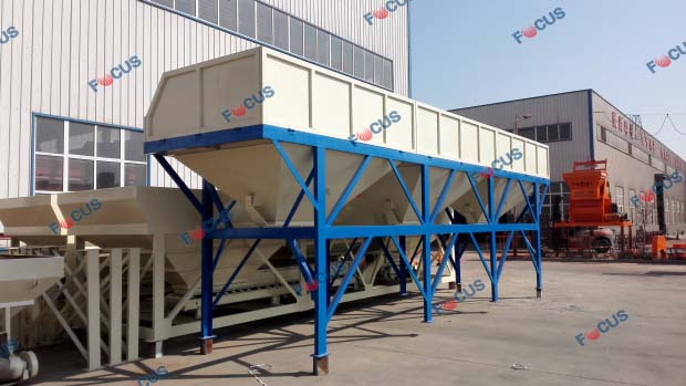 75cbm/h Concrete Mixing Plant is during delivery picture 3